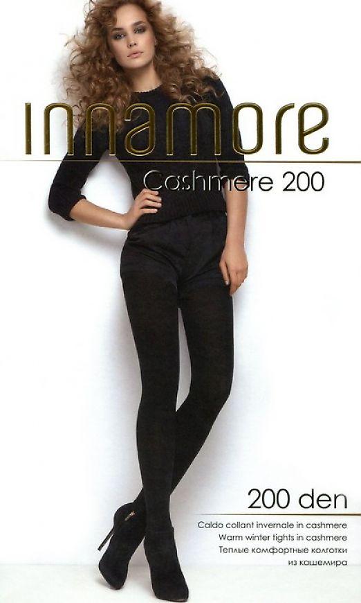 Теплые колготки с вискозой и кашемиром Innamore Cashmere 200