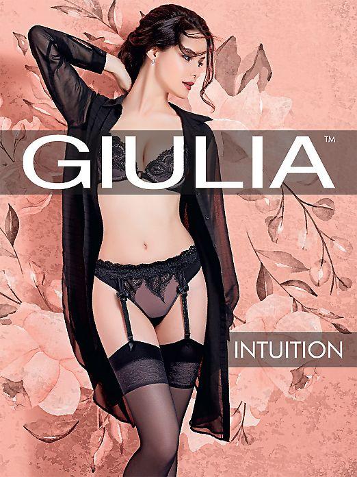 Тонкие прозрачные чулки под пояс Giulia Intuition 20