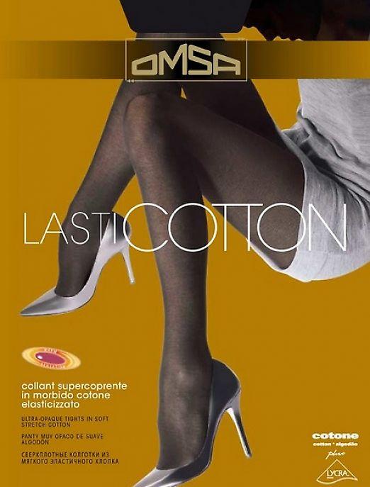 Колготки с хлопком Omsa Lasticotton