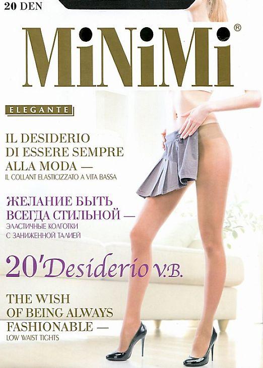 Колготки с низкой талией MiNiMi Desiderio 20 Vita Bassa