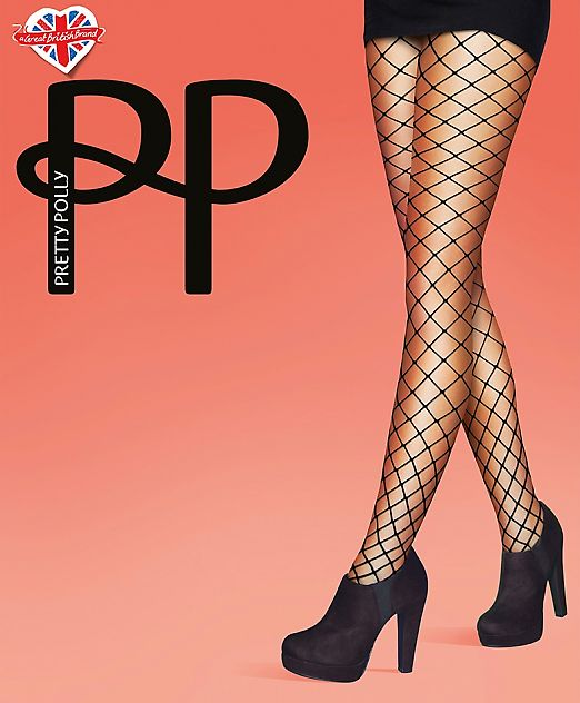 Pretty Polly Jumbo Net Tights AVD8