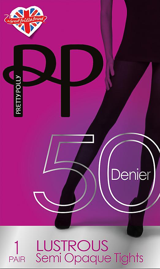 Pretty Polly 50 den Lustrous SemiOpaques AVR3