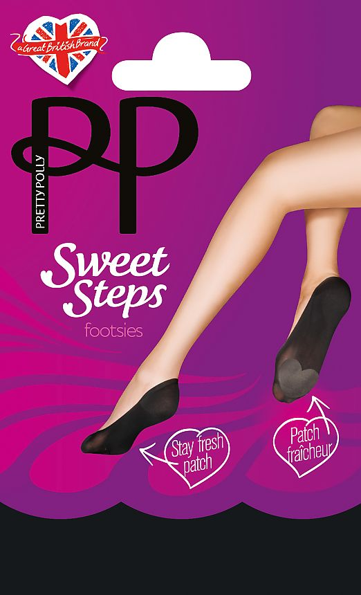 Pretty Polly Sweet Steps Footsie ATP3