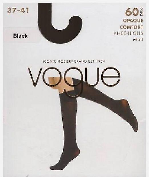 Женские гольфы Vogue Opaque Comfort 60 Knee-Highs