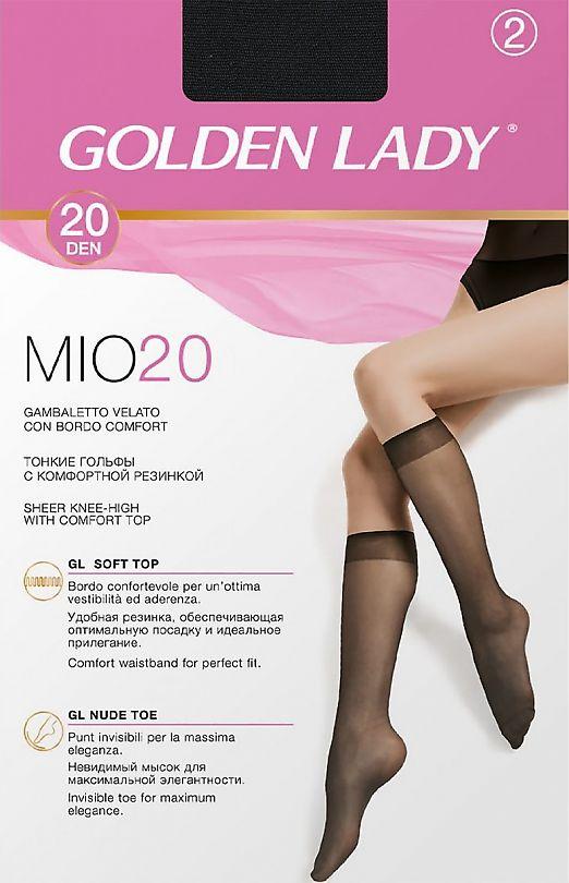 Golden Lady Mio 20 Gambaletto 2 Paia