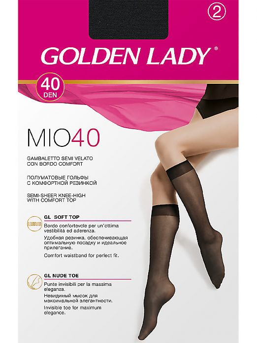 Golden Lady Mio 40 Gambaletto 2 Paia