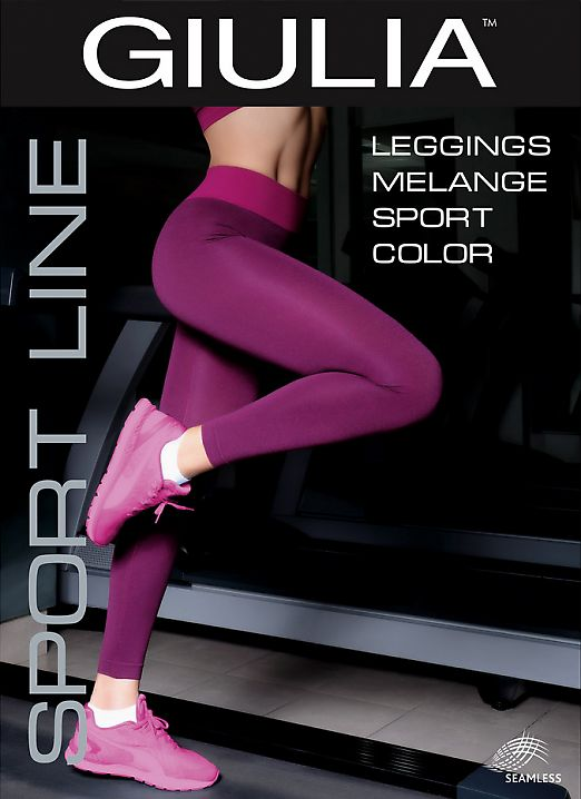 Giulia LEGGINGS SPORT MELANGE COLOR