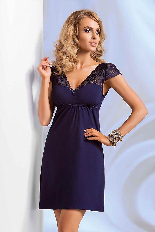 Donna Diana nightdress Dark Blue