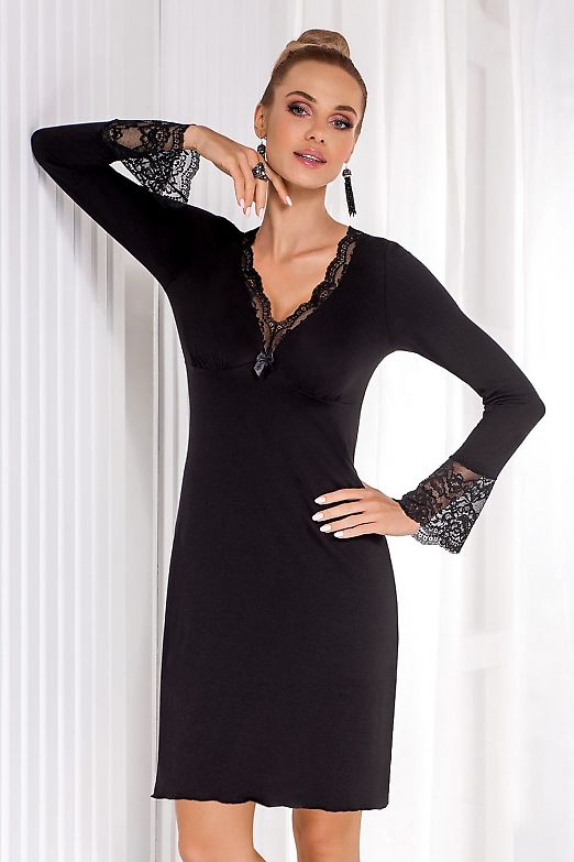 Donna Stella II nightdress Black
