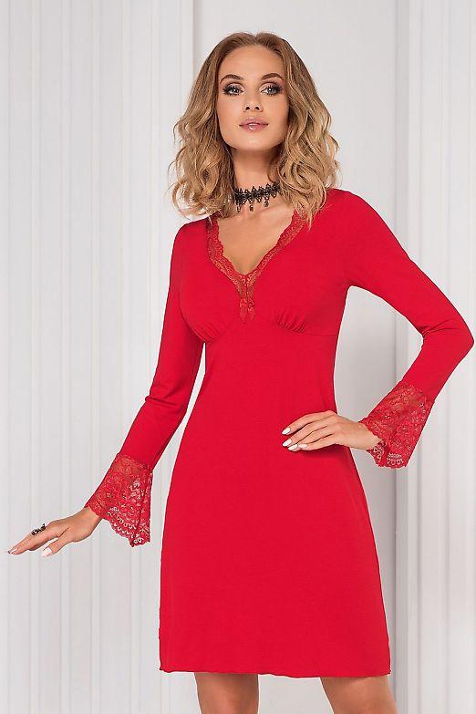 Donna Stella II nightdress Red