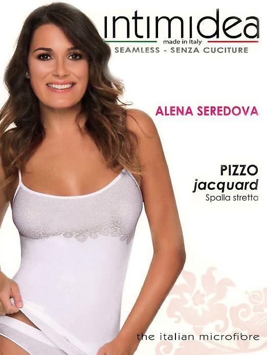 Intimidea Pizzo Jacquard Spalla Stretta