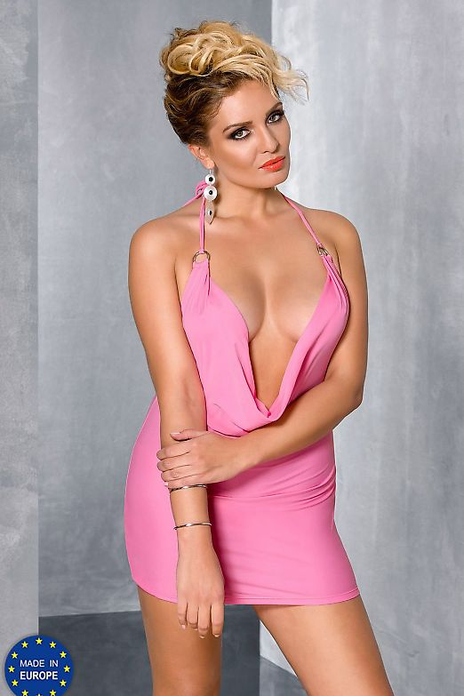 Passion Size Plus Miracle chemise Pink