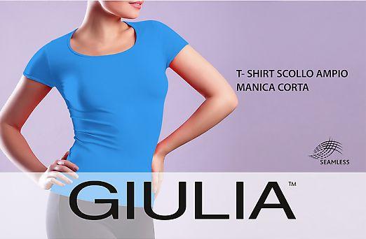 Giulia T-SHIRT SCOLLO AMPIO M.CORTA