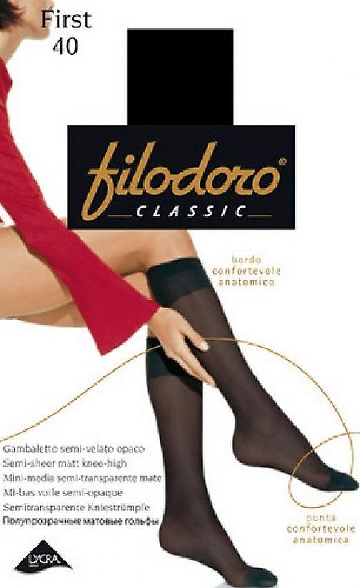 Гольфы женские Filodoro Classic First 40 Gambaletto