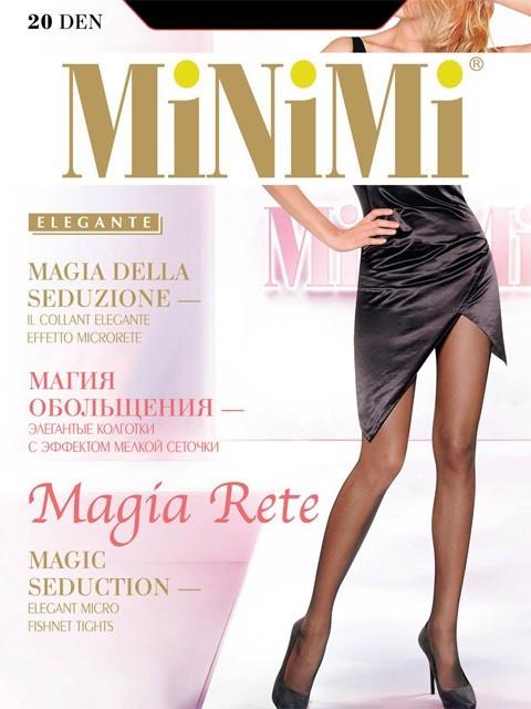 Колготки MiNiMi Magia Rete размер 3 плотность 20 Den Daino