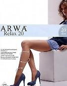 Тонкие колготки с корректирующими шортиками Arwa Relax 20