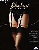 Чулки под пояс Filodoro Classic Perfida 15