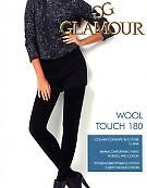 Колготки с шерстью и хлопком Glamour Wool Touch 180