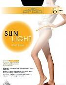 Тонкие колготки с заниженной талией Omsa Sun Light 8 Vita Bassa