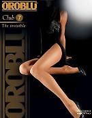 Тонкие летние колготки Oroblu Club 7