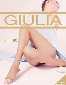Колготки с открытыми пальцами Giulia Toe 15
