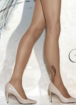 Тонкие фантазийные колготки Gatta Tattoo 22