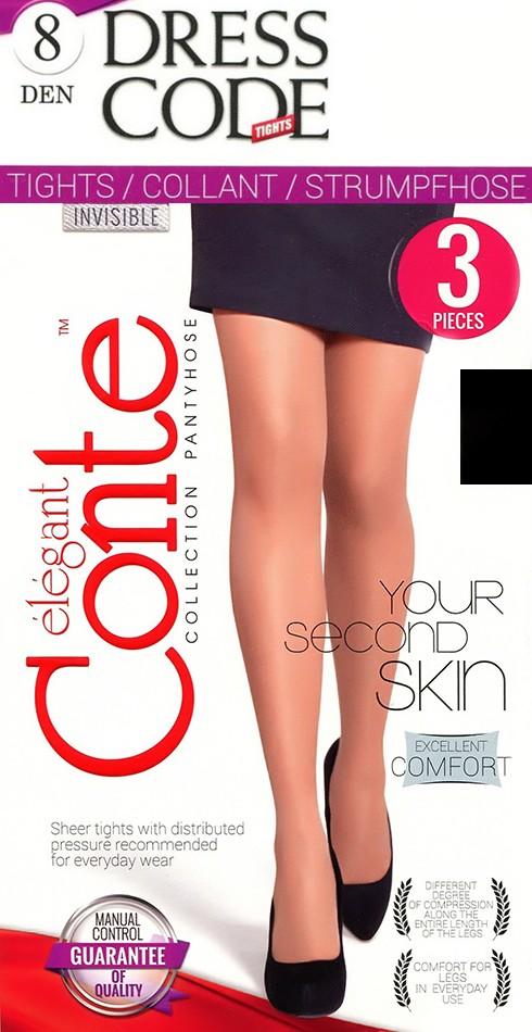 Колготки Conte Dress Code 8 (3 пары)