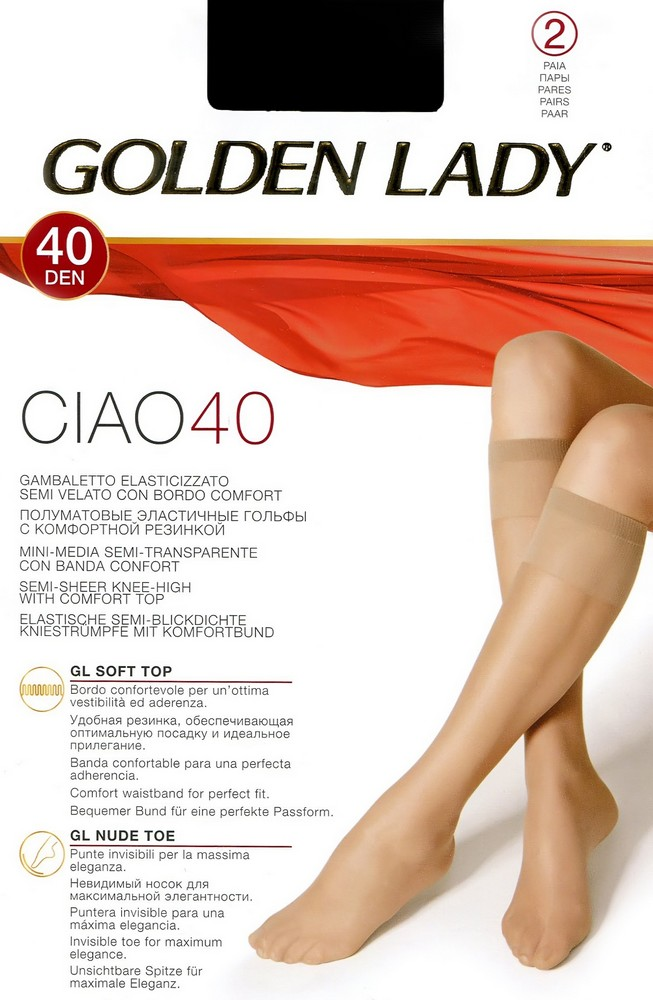 Гольфы Golden Lady Lady Ciao 40 Gambaletto