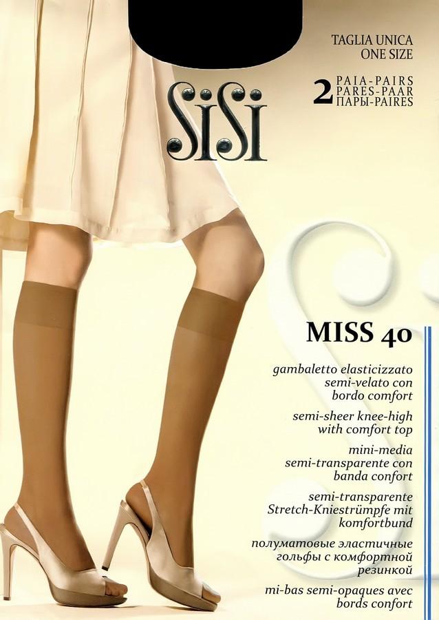 Гольфы SiSi Miss 40 Gambaletto