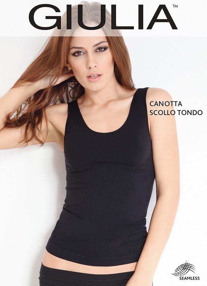 Майка женская Giulia Canotta Scollo Tondo