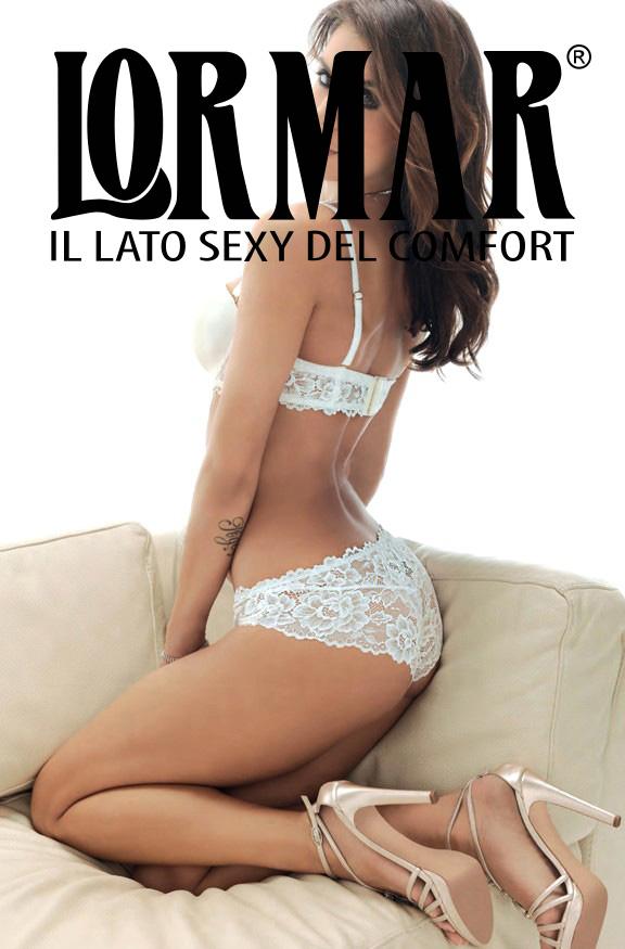 Трусы женские Lormar Slip Tutto Pizzo Palladium