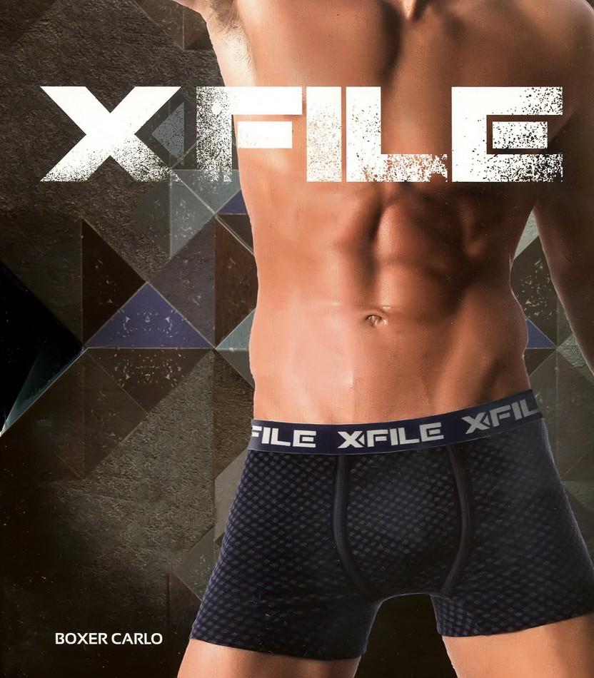 Трусы мужские X-File Boxer Carlo