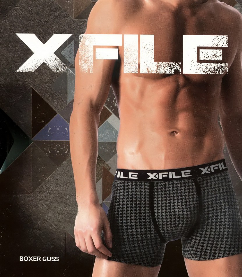 Трусы мужские X-File Boxer Guss