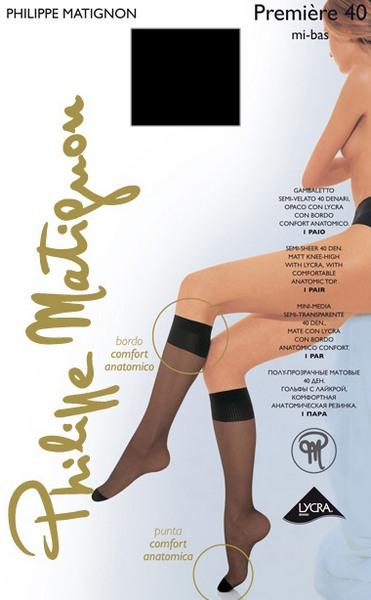 Гольфы Philippe Matignon Premiere 40 mi-bas