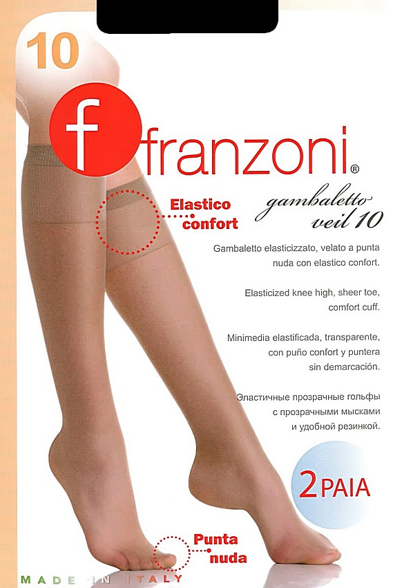 Гольфы Franzoni Gambaletto Veil 10