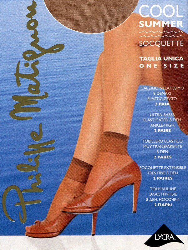 Носки женские Philippe Matignon Cool Summer 8 Calzino